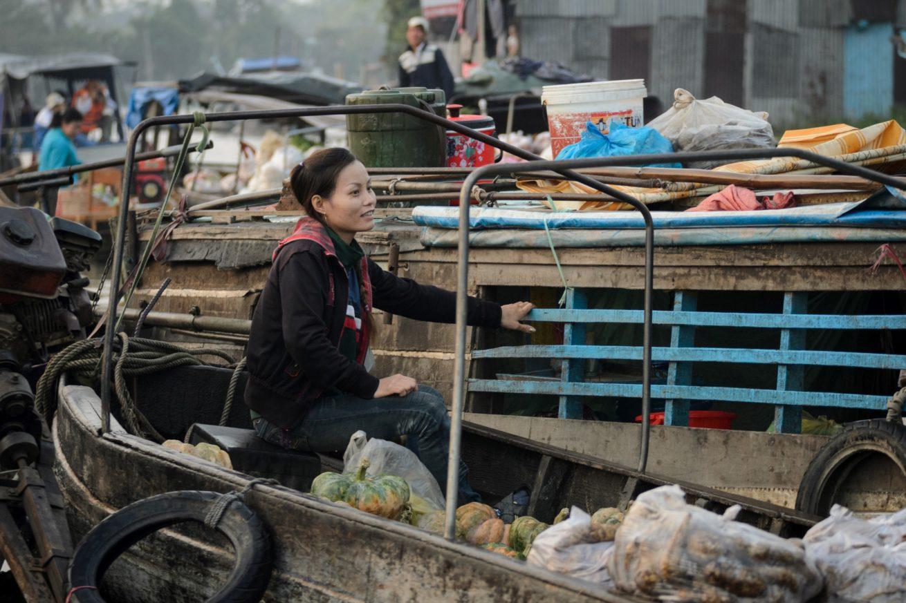 Phong Dien Market